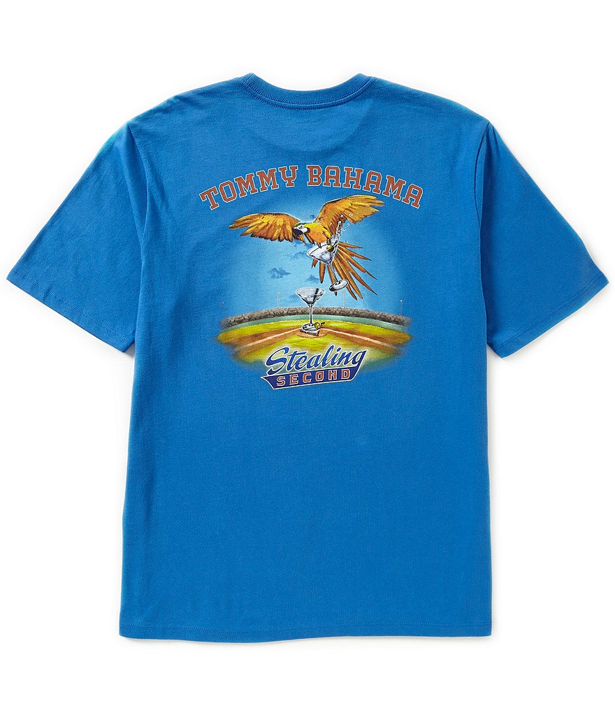 Tommy Bahama Short-Sleeve Stealing Second Graphic Tee