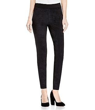 Two By Vince Camuto Ponte Backed Suede Legging