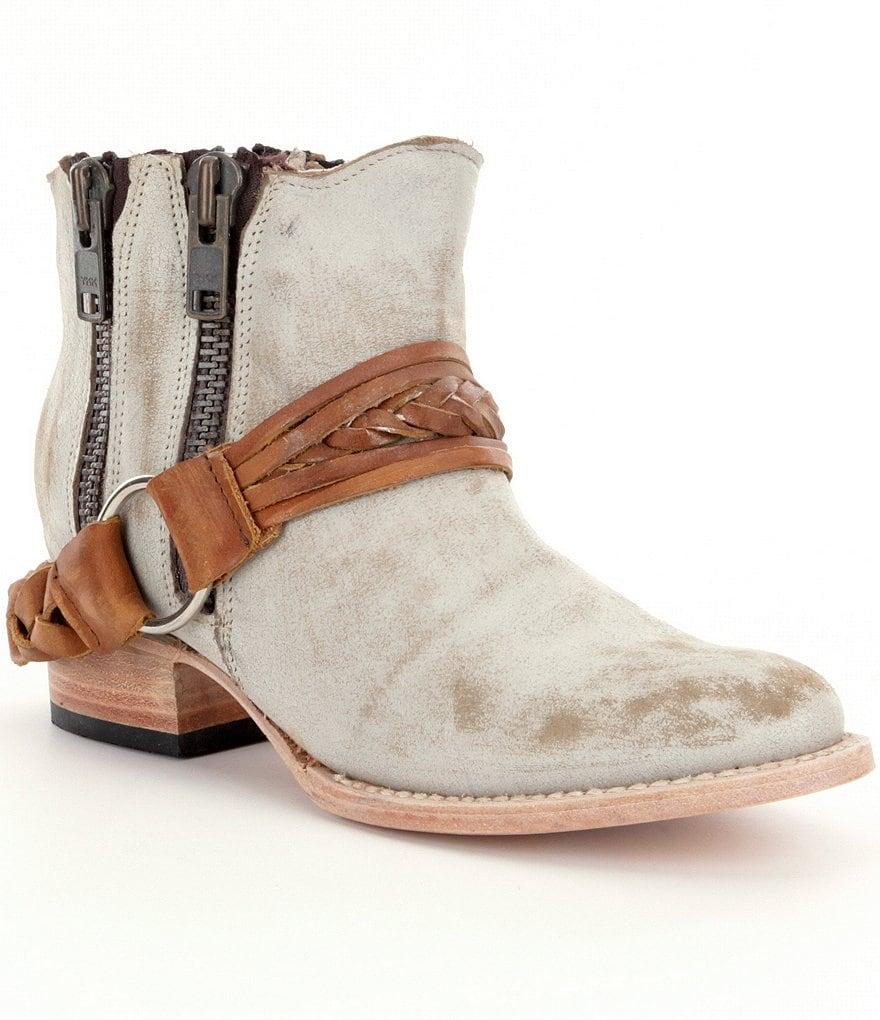Freebird Clash Double Zip Booties
