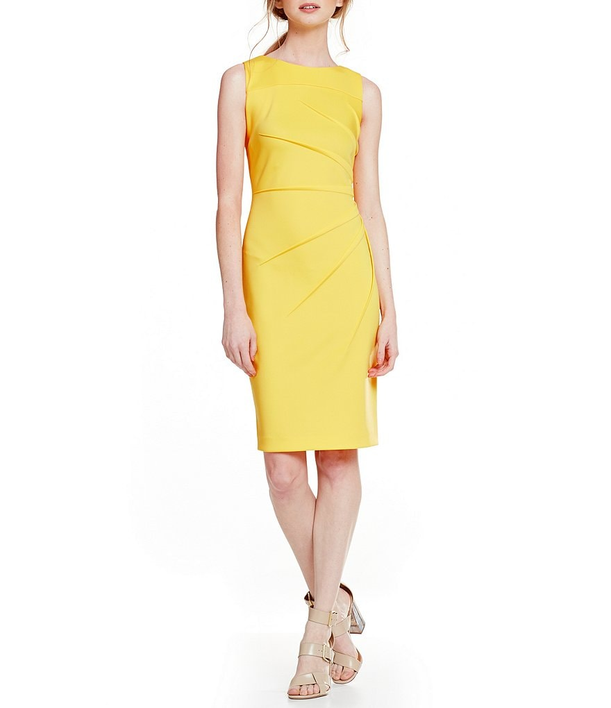 Calvin Klein Sideburst Scuba Dress