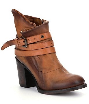 Freebird Blaze Ankle Strap Mid Booties