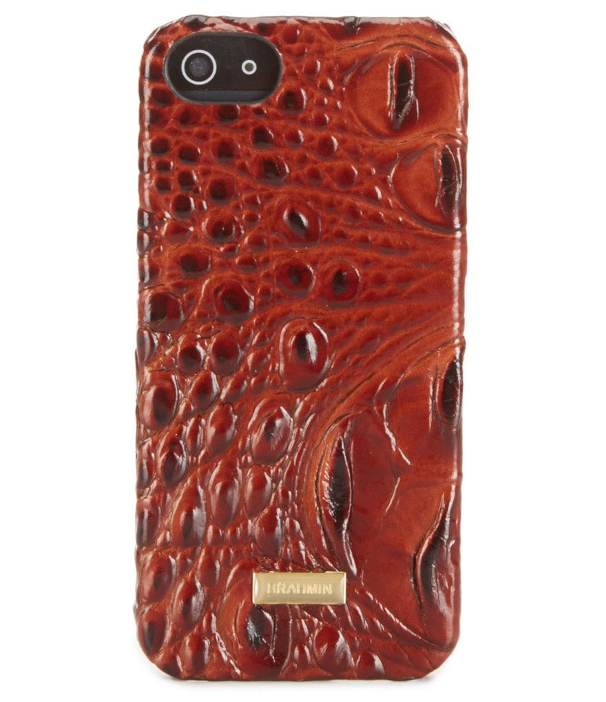 Brahmin Melbourne Collection Croc-Embossed iPhone 5 Case