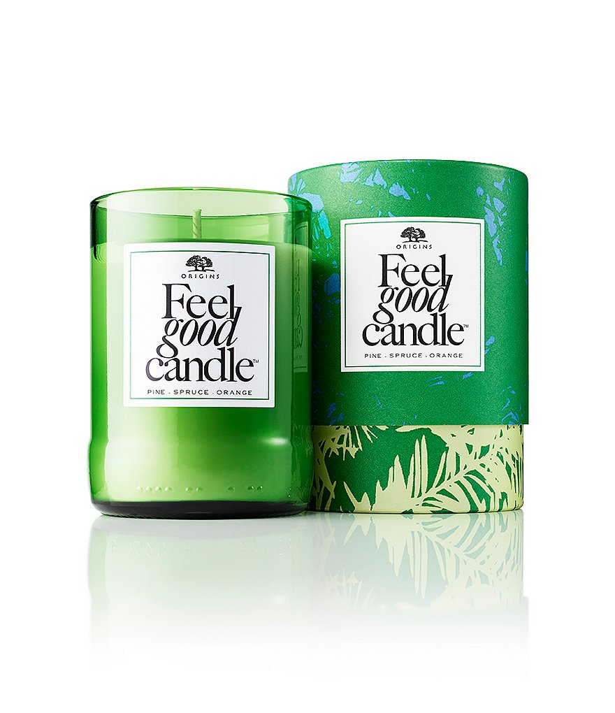 Origins Feel Good Candle - Pine, Spruce & Orange