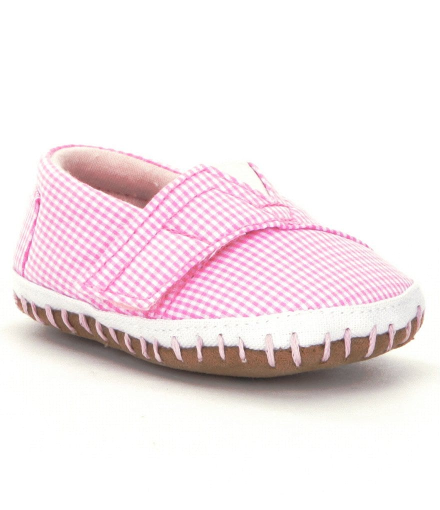 TOMS Girls´ Alpargata Crib Shoes
