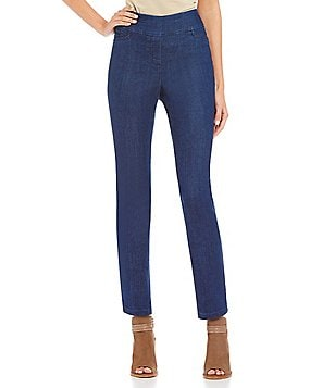 Westbound the PARK AVE fit Slim-Leg Pants