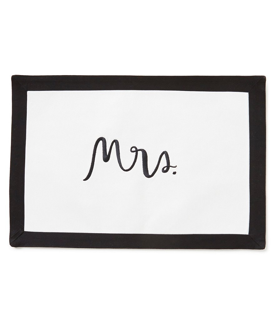 kate spade new york Mrs. Placemat