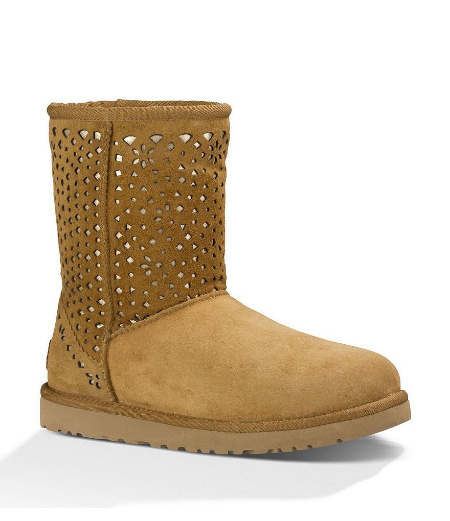 UGG® Classic Flora Perf Boots