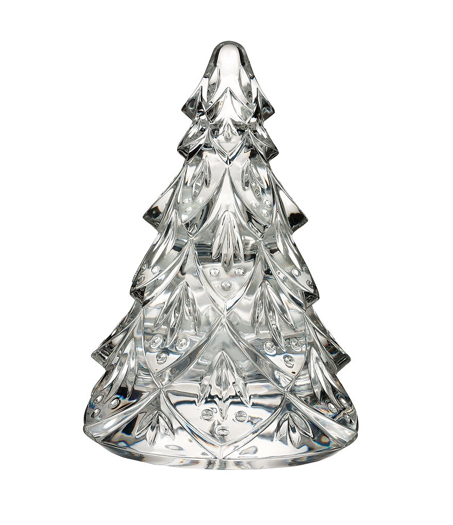 Waterford Crystal Christmas Tree Sculpture