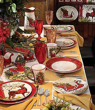 Certified International Winter Garden Dinnerware Collection