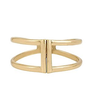 Kenneth Cole New York Two-Row Hinge Bangle Bracelet