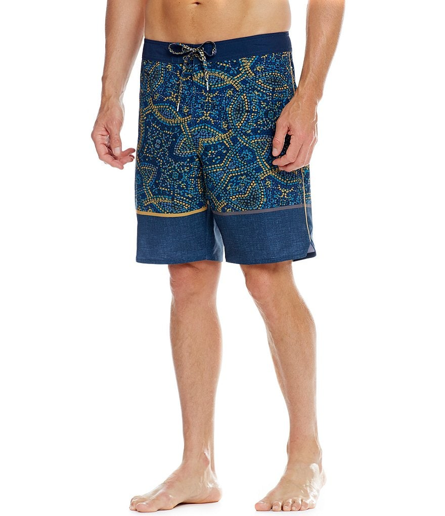 O´Neill Hyperfreak Canggu Mixed-Media Colorblock Board Shorts