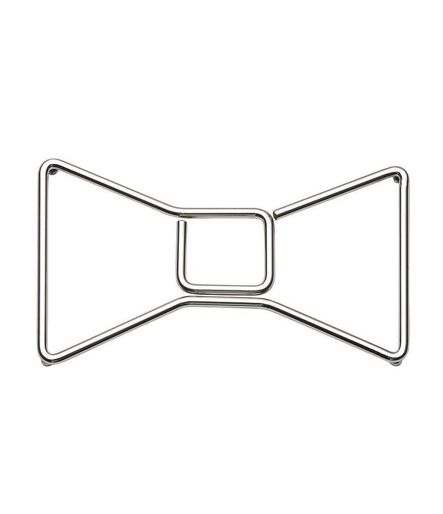 kate spade new york All in Good Taste Stainless Steel Bow Trivet