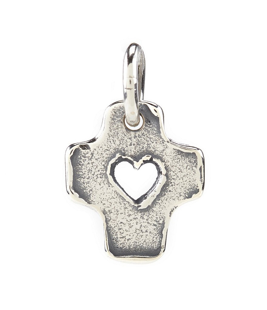 James Avery Heartfelt Cross Charm