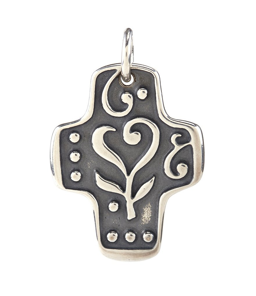 James Avery Love of Life Cross Charm