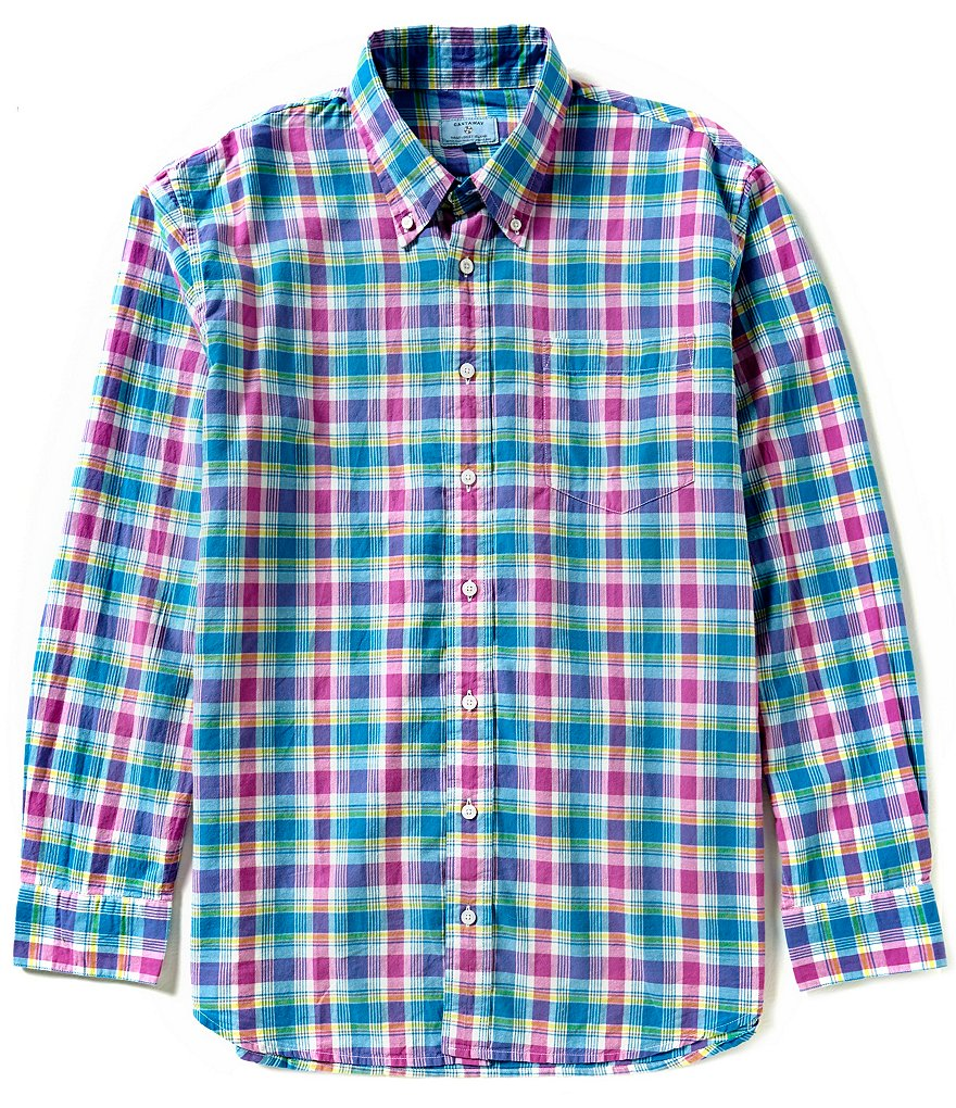 Castaway Nantucket Island Chase Plaid Shirt