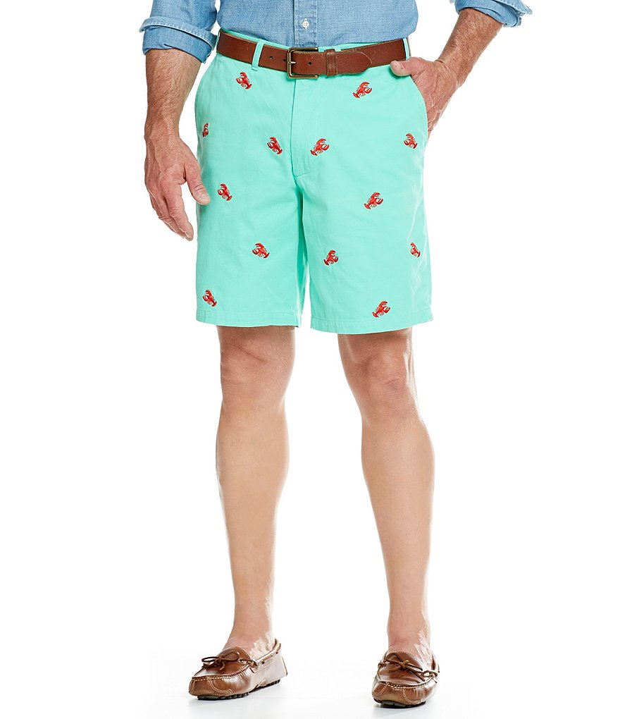 Castaway Nantucket Island Chase Flat-Front Shorts