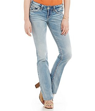 Silver Jeans Co. Suki Mid-Rise Bootcut Jeans