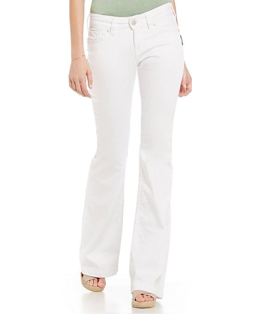 Silver Jeans Co. Suki Mid-Rise Stretch Flare Jeans
