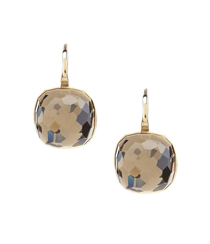 Swarovski Dot Drop Earrings