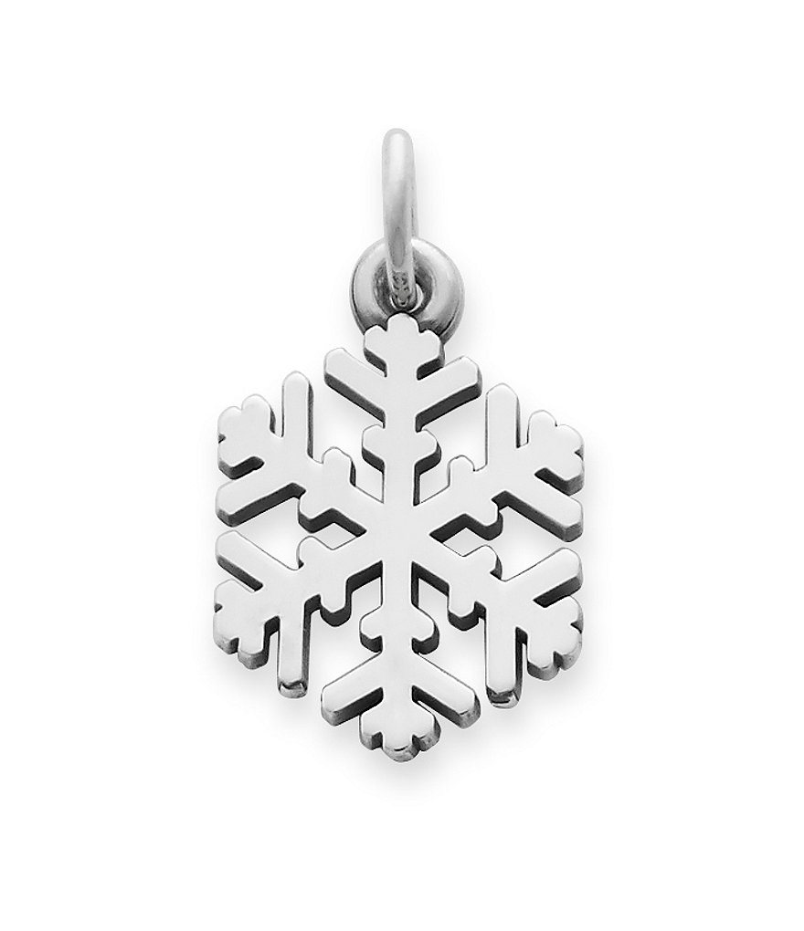 James Avery Snow Crystal Charm