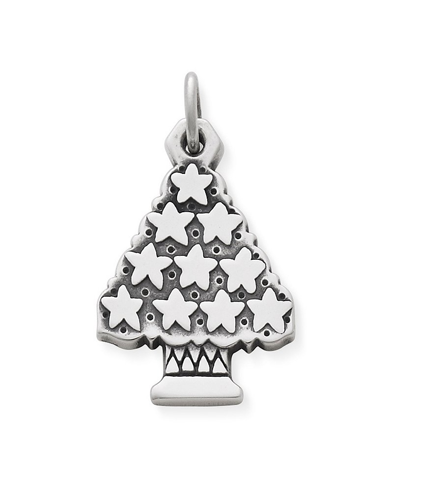 James Avery Christmas Tree with Stars Charm