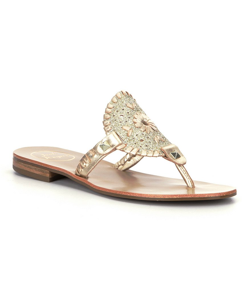 Jack Rogers Georgica Sparkle Thong Sandals