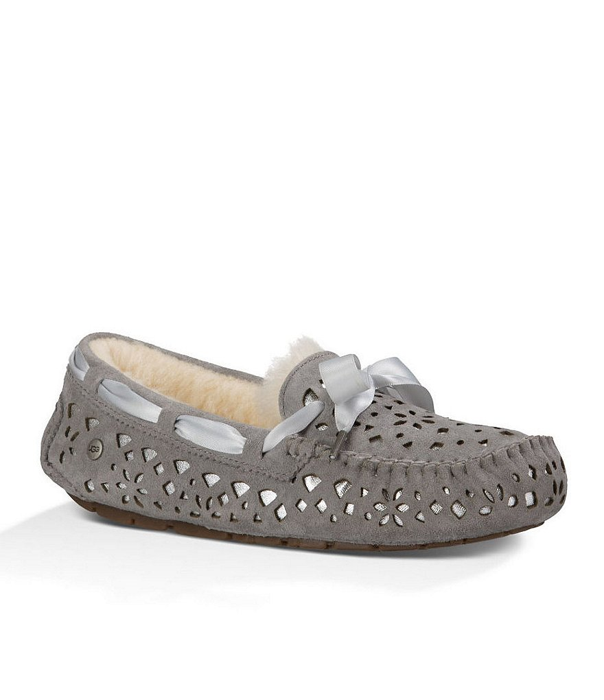 UGG® Dakota Flora Perf Slippers