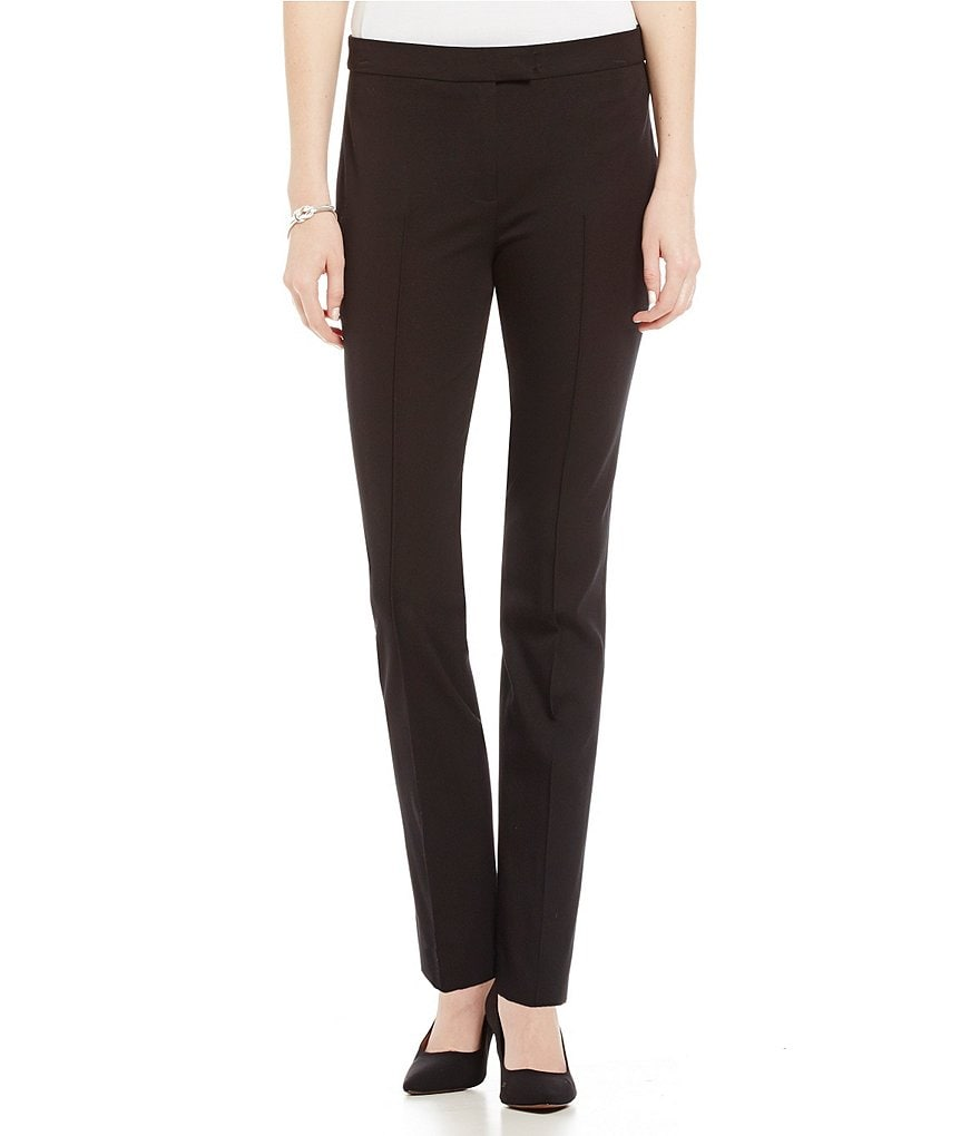 Misook Straight-Leg Dress Pants