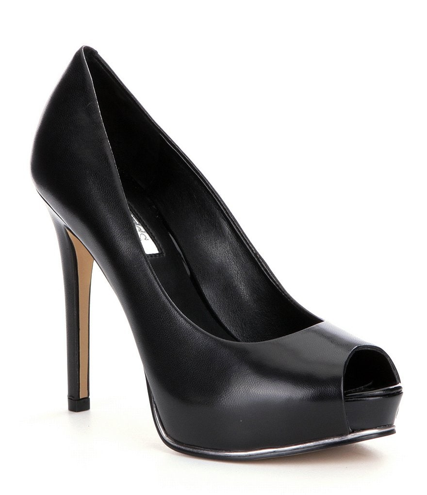 Guess Honora2 Peep-Toe Pumps