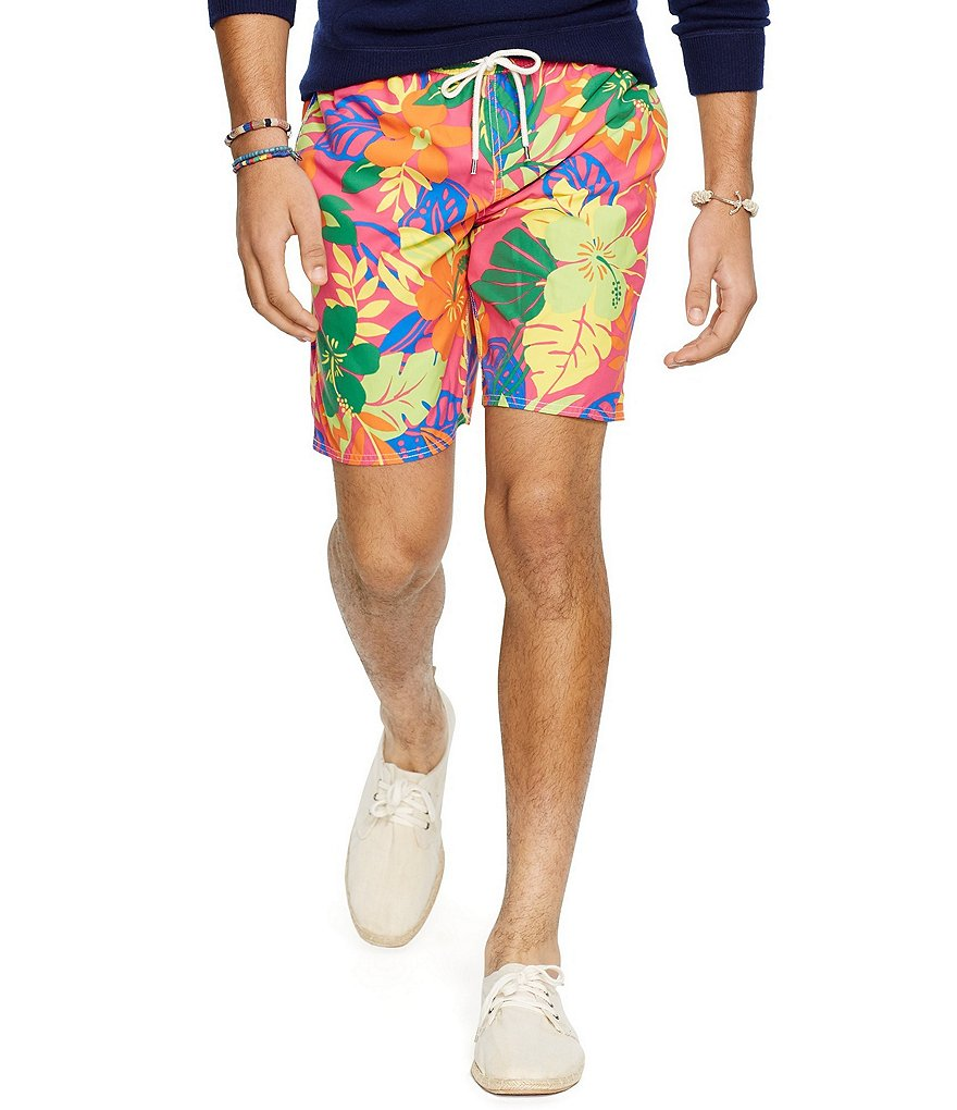 Polo Ralph Lauren Floral Captiva Swim Trunk