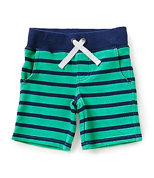 Adventure Wear by Class Club Little Boys 2T-5 Striped Pull-On Shorts