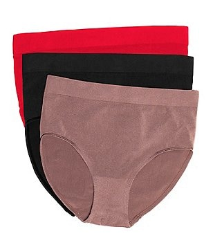 Wacoal B-Smooth Seamless Hi-Cut Brief Panty 3-Pack