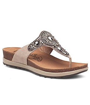 Dansko Pamela Beaded Embellished Sandals