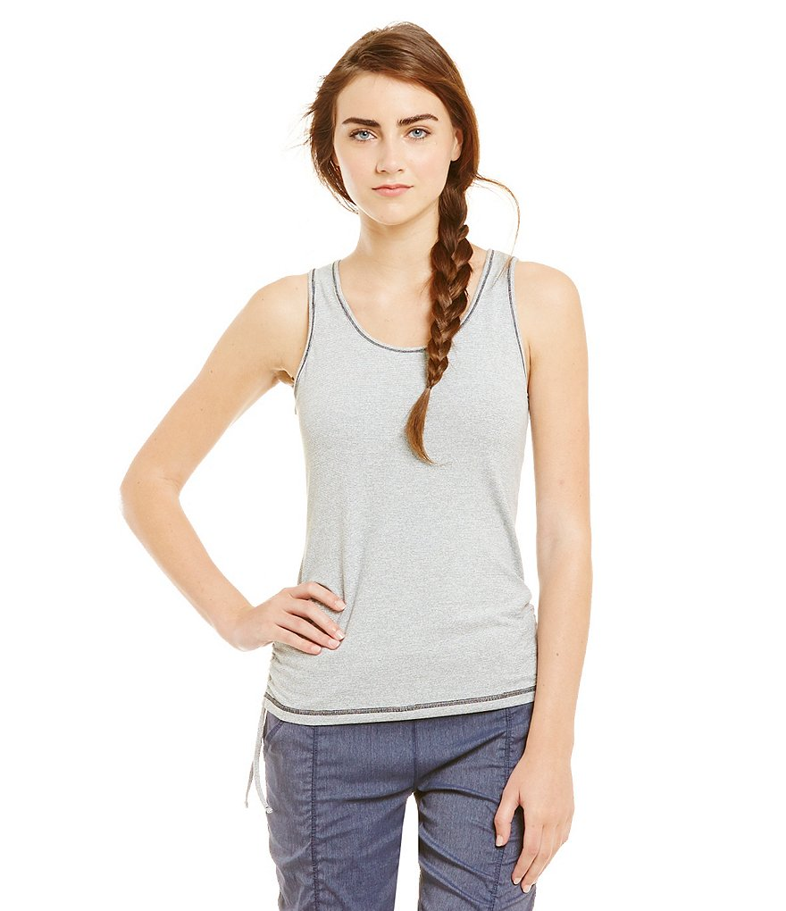 Lucy Active Sleeveless Dashing Stripes Tank Top