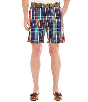 Vintage 1946 Vintage Madras Plaid Regular-Fit Shorts