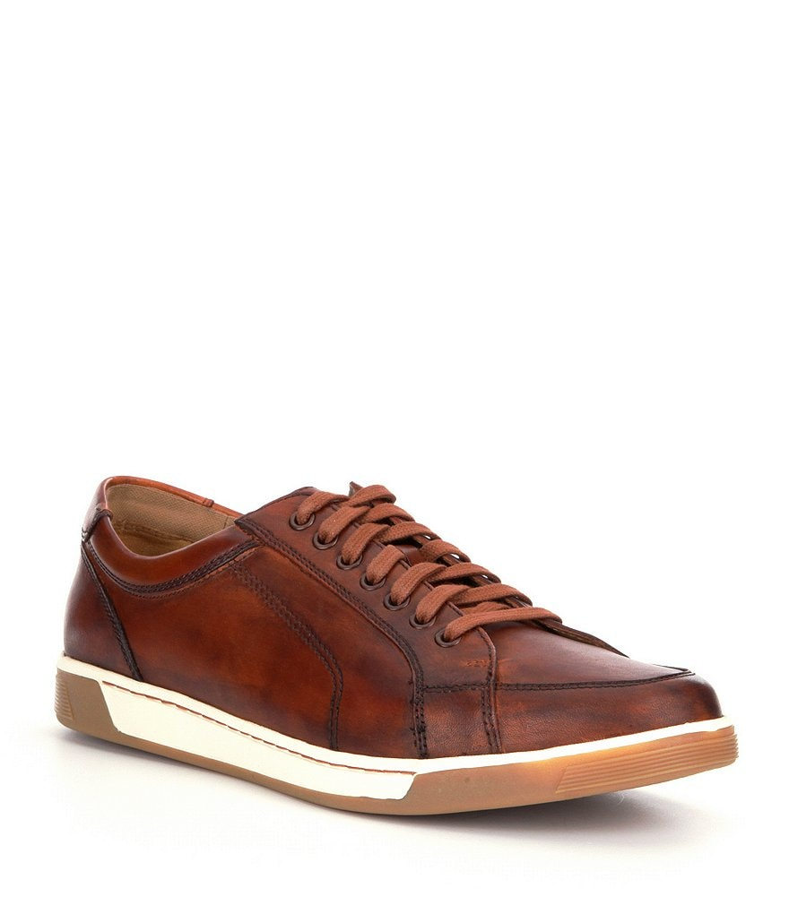 Cole Haan Vartan Antiqued Leather Sneakers