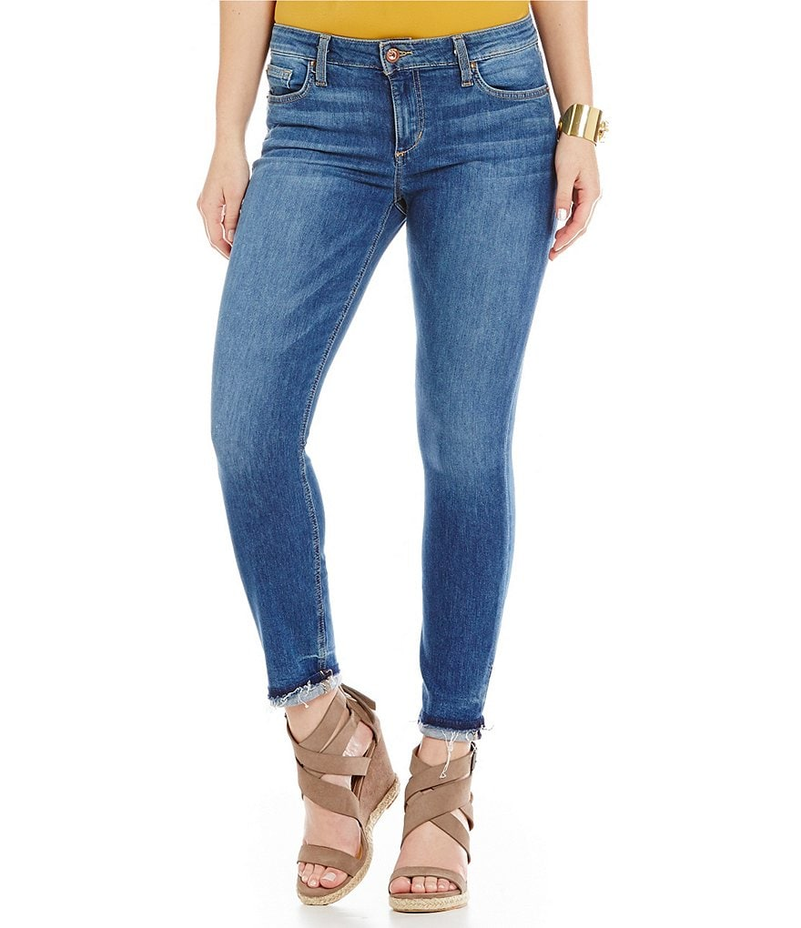 Joe´s Jeans Roamie Markie Released Frayed Hem Crop Jeans