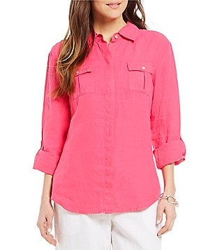 Tommy Bahama Two Palms Linen Shirt
