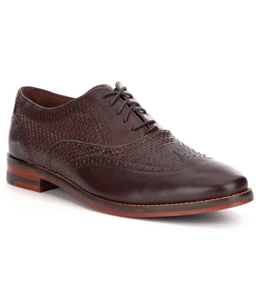 Cole Haan Cambridge Woven Wingtip Oxfords