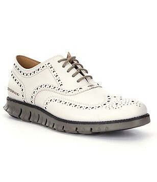 Cole Haan Men´s ZeroGrand Suede Wingtip Oxfords