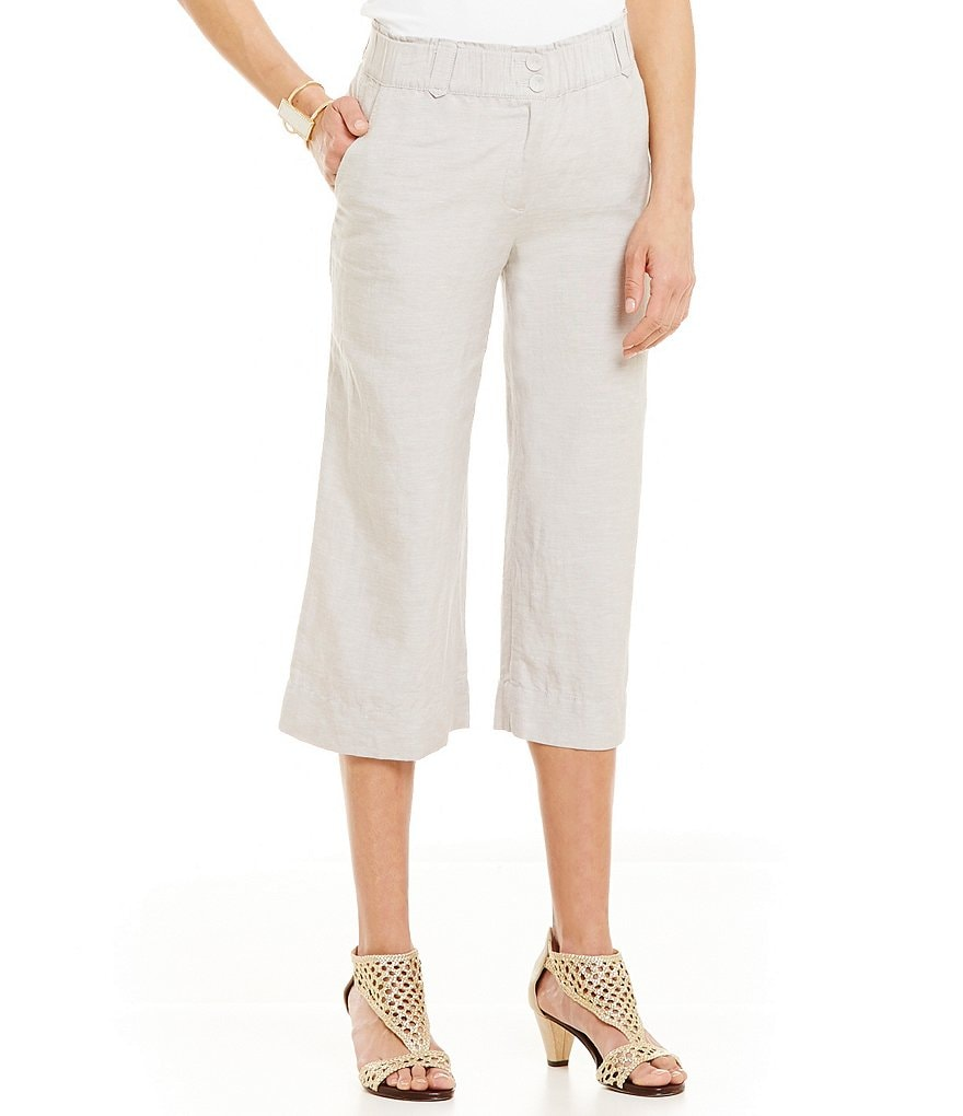 ZOZO Linen Crop Pants