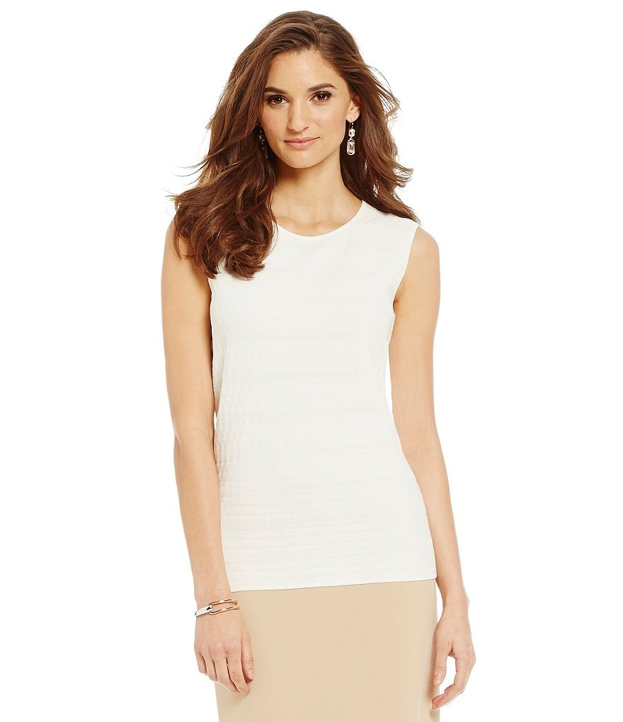 Preston & York Jessica Sleeveless Shell