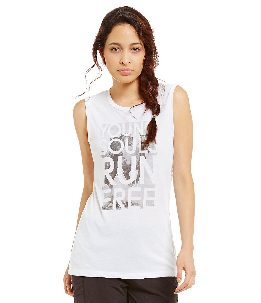 Lucy Activewear Young Souls Verbiage Tank Top