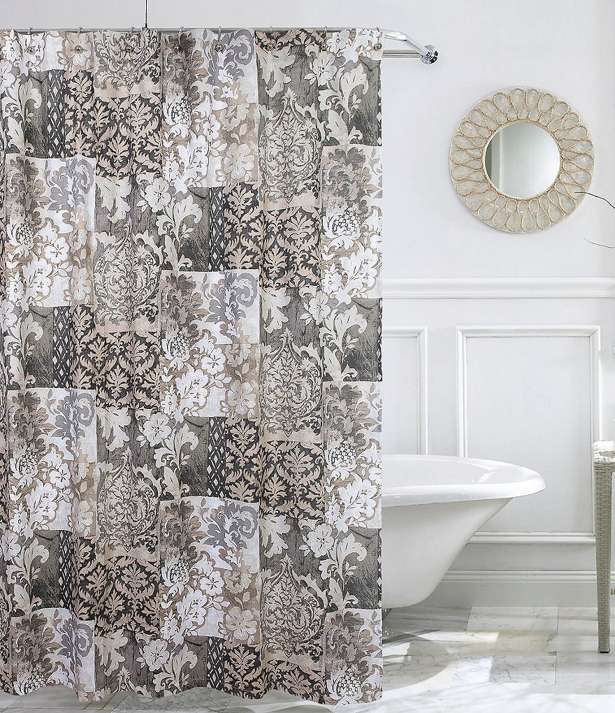Studio D Antoinette Patchwork Shower Curtain