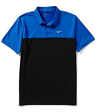Nike Golf Short-Sleeve Icon Color Block Polo Shirt
