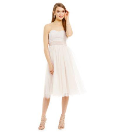 Teeze Me Foiled Knit Bodice Midi Dress