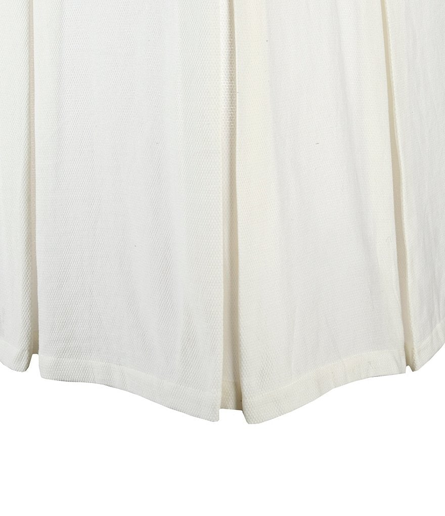 Southern Living Heirloom Cotton Piqué Bedskirt