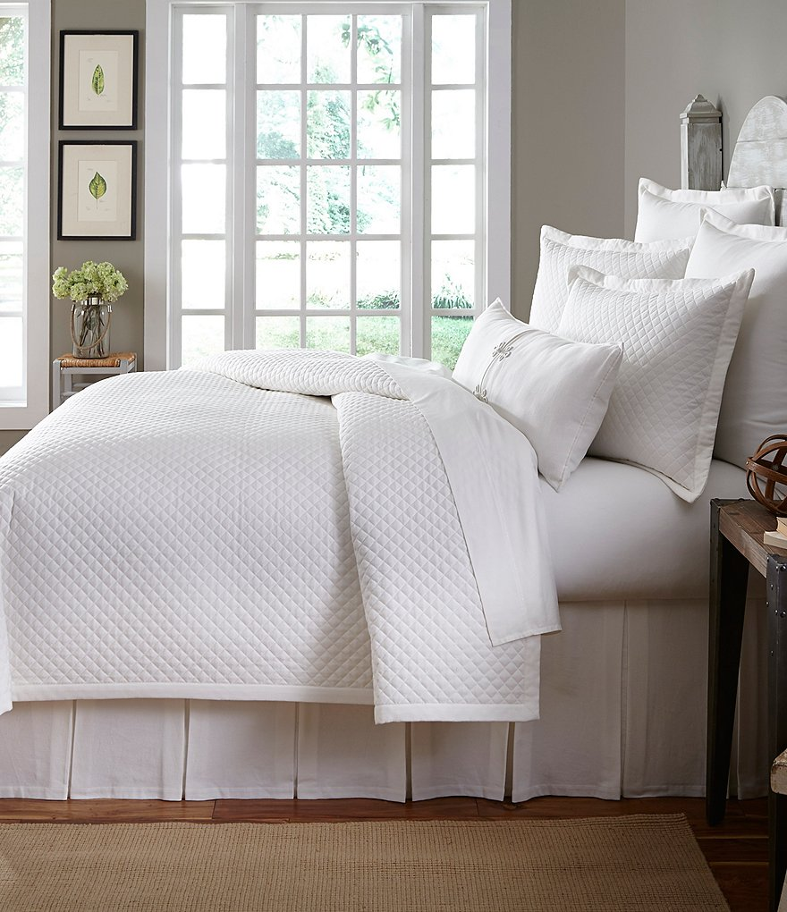 Southern Living Bedroom Southern Living Florence Damask Cotton Comforter Mini Set Dillards