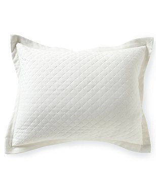 Southern Living Quilted Cotton Piqué Sham
