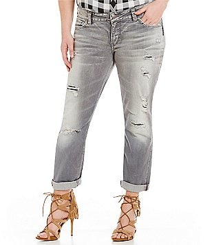 Silver Jeans Co. Plus Suki Mid Ankle Slim